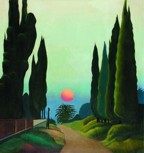 Otar Chkhartishvili, 'Cypresses', 1985, Baia Gallery