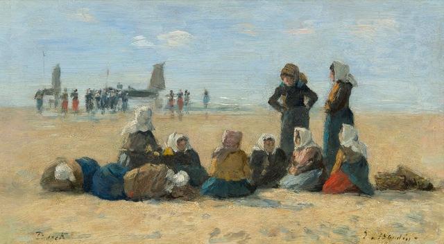, 'Retour de la Pêche à Berck,' 1875-1878, Galerie d'Orsay