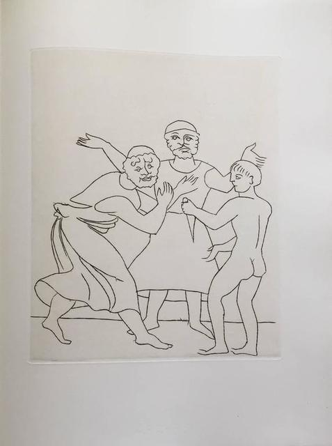 André Derain, 'Etching from Le Satyricon', Lions Gallery