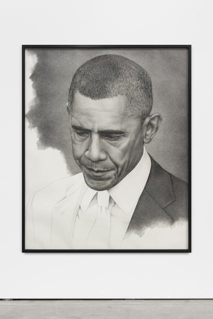 ", '""Unfinished Obama (mirrored)"",' 2016, Wentrup"