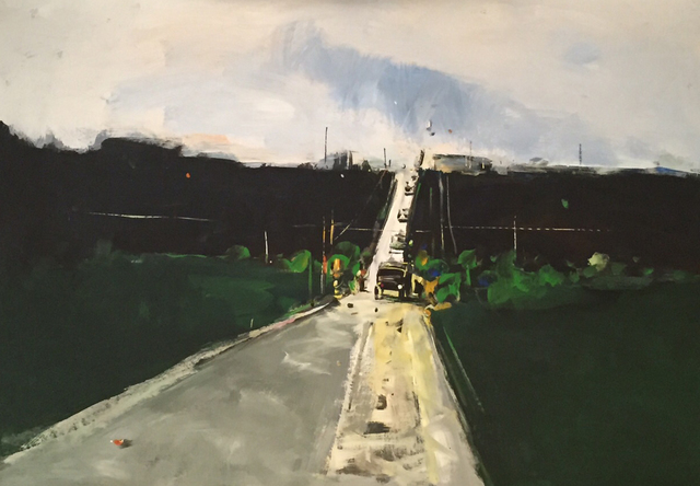 """, ''The Road 9"""",' 2016, Krokin Gallery"""