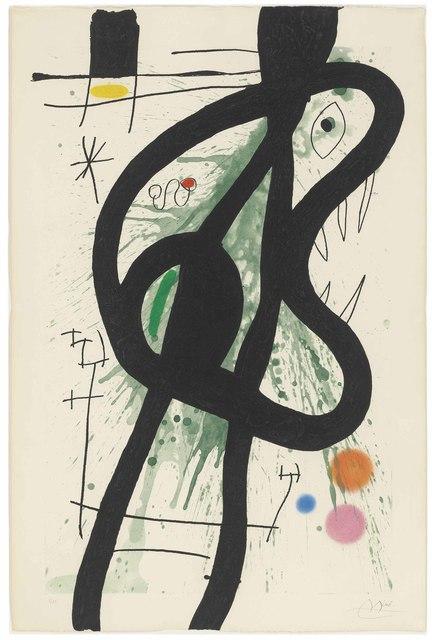 Joan Miró, 'Le Grand Carnassier', 1969, Christie's