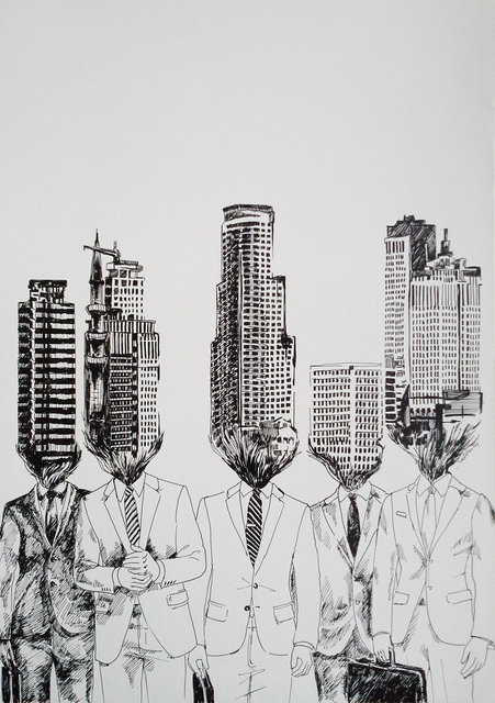 , 'Become Urbanized,' 2014, Merkur