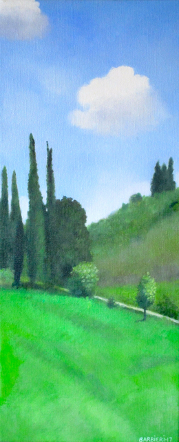 , 'Cypresses Near Pienza,' 2017, Gallery NAGA