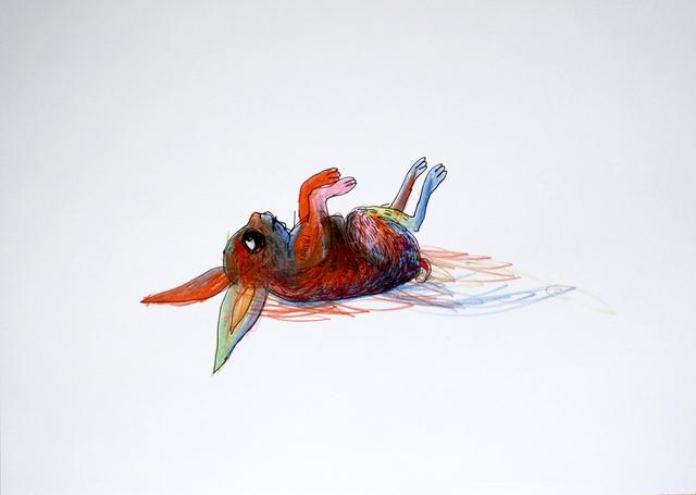 , 'Rainbow rabbit,' ca. 2014, Galerie Sandhofer
