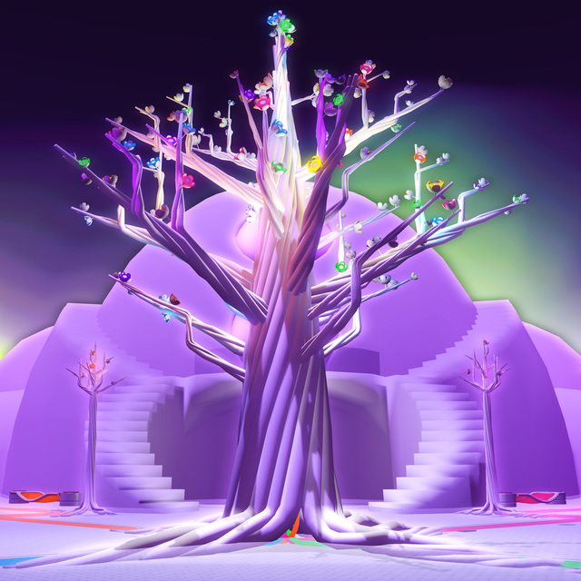 , 'Celestial Tree : She Falls for Ages,' 2017, ELLEPHANT