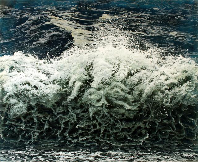 , 'Breakwall,' 2017, Woodward Gallery