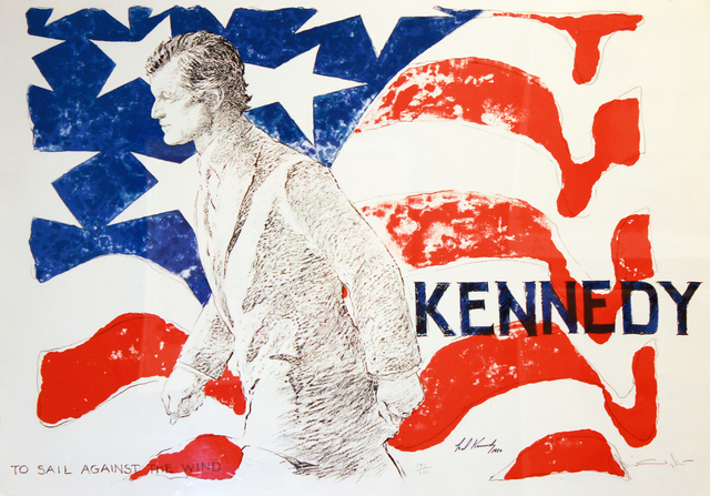 , 'Ted Kennedy, To Sail Against the Wind,' 1980, Robert Berman Gallery