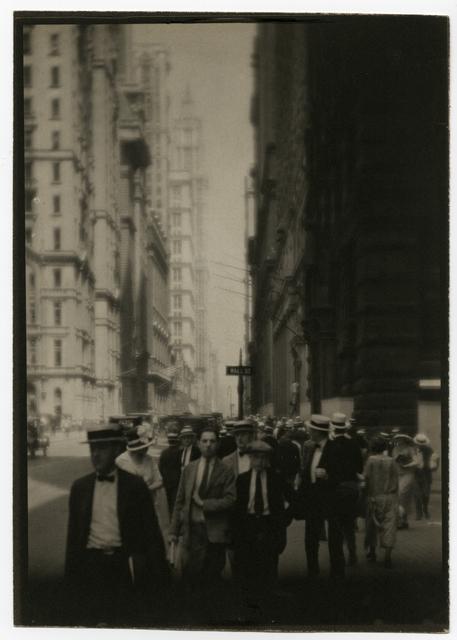 , 'Wall Street,' 1921-1925, Rick Wester Fine Art