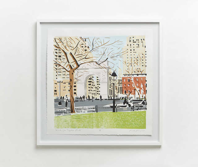 , 'Washington Square Park,' 2017, Evalyn Dunn Gallery