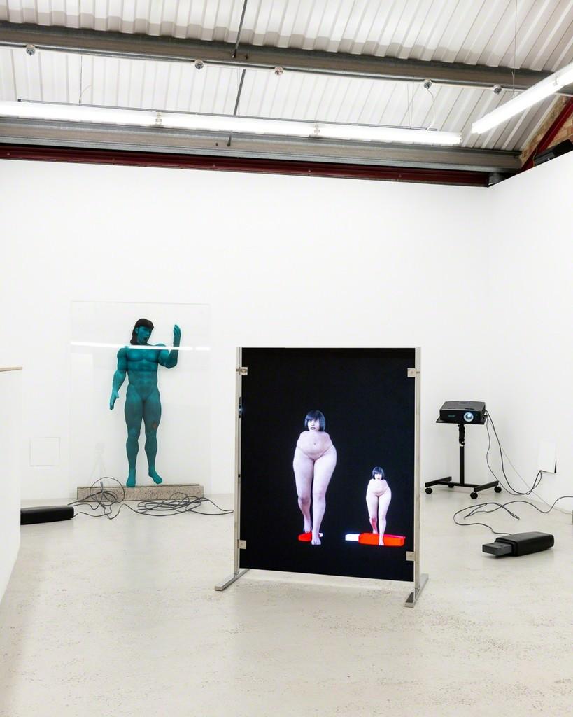 Olga Fedorova 'Short Term Memories'  at Annka Kultys Gallery, London 2018. Photo: Annka Kultys Gallery