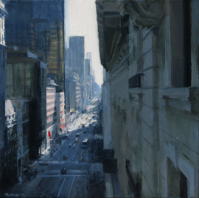, 'Afternoon Over Fifth,' 2017, Jenkins Johnson Gallery