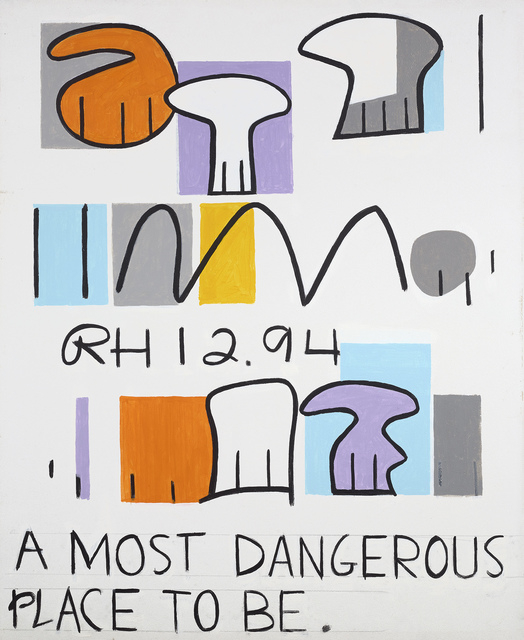 , 'A Most Dangerous Place To Be,' 1994, Berry Campbell Gallery