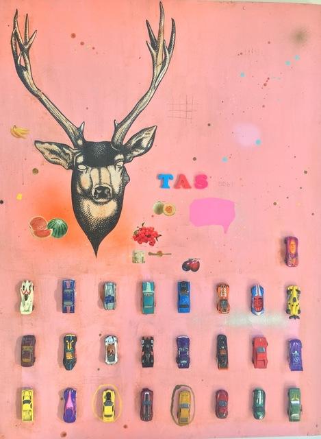 , 'Pink Deer,' , Melissa Morgan Fine Art