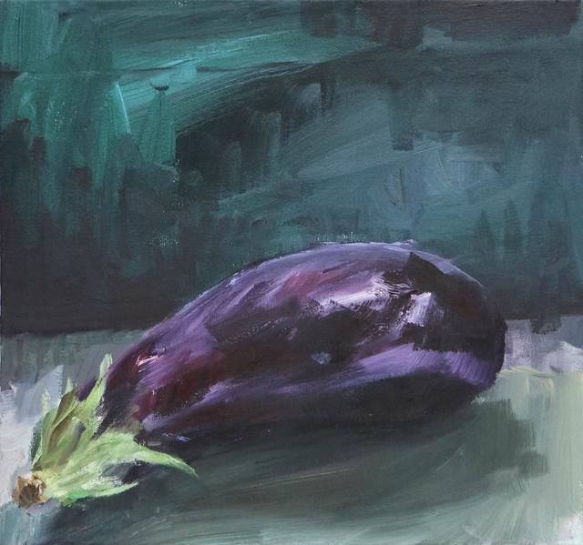 , 'Berongela [Eggplant],' 2016, Casa Triângulo