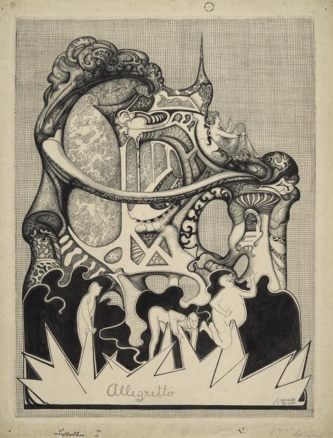 , 'Allegretto,' 1899, Statens Museum for Kunst