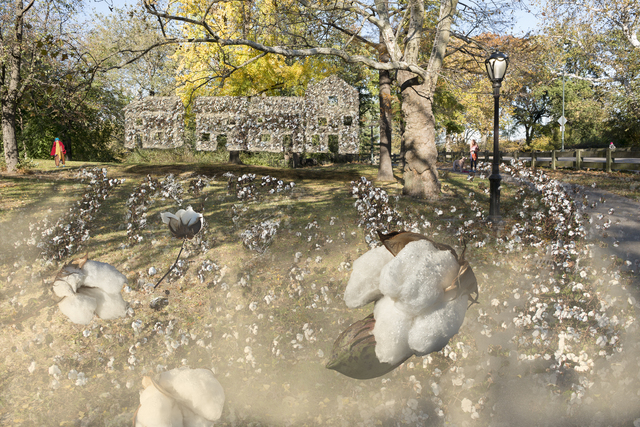 John Dowell, 'Williams and Neighbors of Seneca Village', 2018, Laurence Miller Gallery