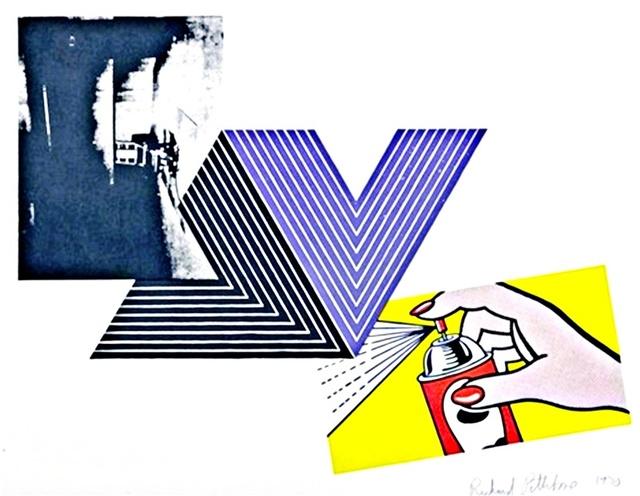 , 'The Appropriation Print  (Andy Warhol, Frank Stella, Roy Lichtenstein),' 1970, Alpha 137 Gallery