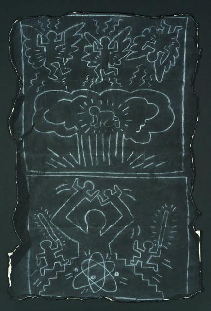 Keith Haring, 'Subway drawing', Digard Auction