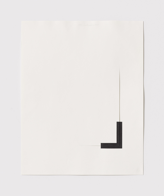 , 'Untitled Cut, S#10,' 1977, Bookstein Projects