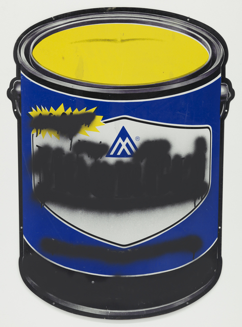 , 'Blue Paint Can Mute,' 2014, Feuer/Mesler