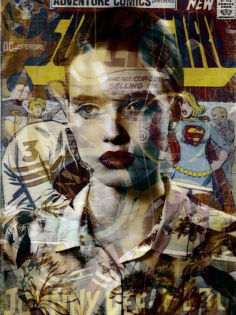 , 'Super Girl,' 2016, Edwynn Houk Gallery