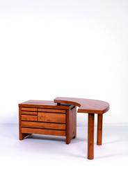B19 desk in elm