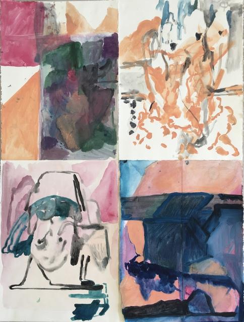 , 'Four Drawings,' 2018, Nicholas Thompson Gallery