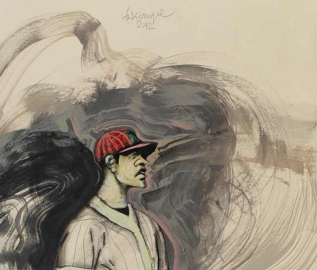 , 'Solo Baseball Player,' ca. 2013, Adah Rose Gallery