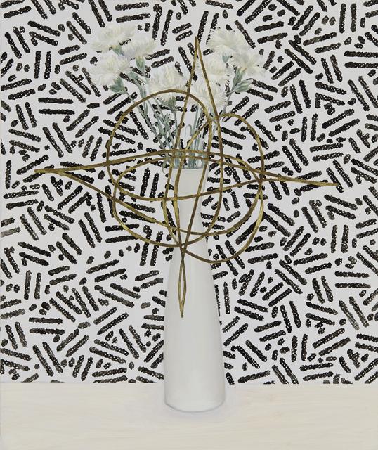 , 'Carnations with Fantasy Pattern (Zeisel),' 2014, Tibor de Nagy