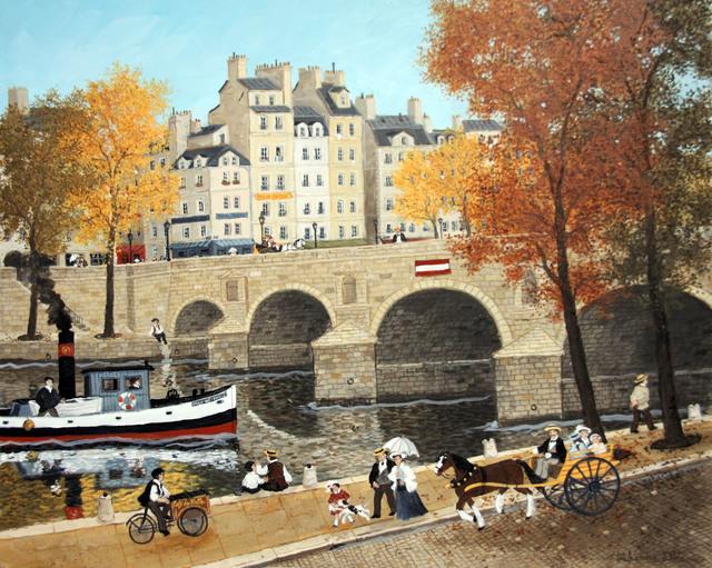 , 'Aux pieds du Pont-Marie,' , Hugo Galerie