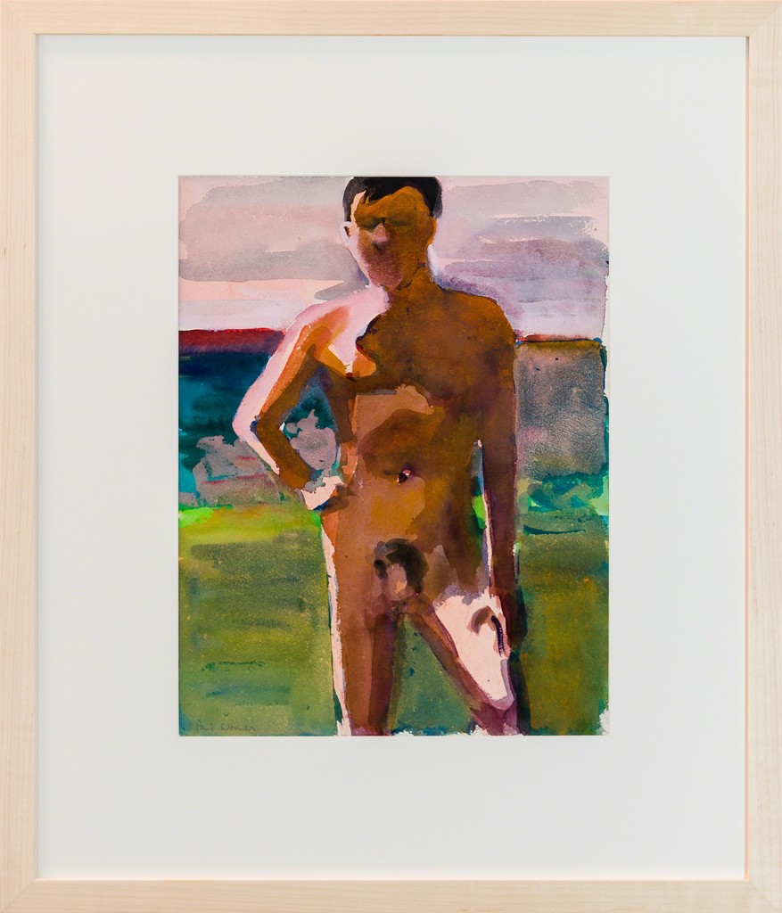Paul Wonner / Bather / 1958-1959