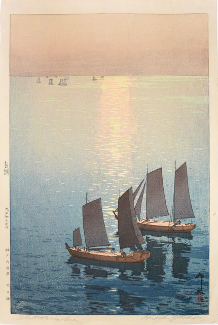 , 'Glittering Sea,' 1926, Ronin Gallery