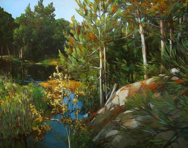 , 'Algonquin Bluff,' 2016, Loch Gallery