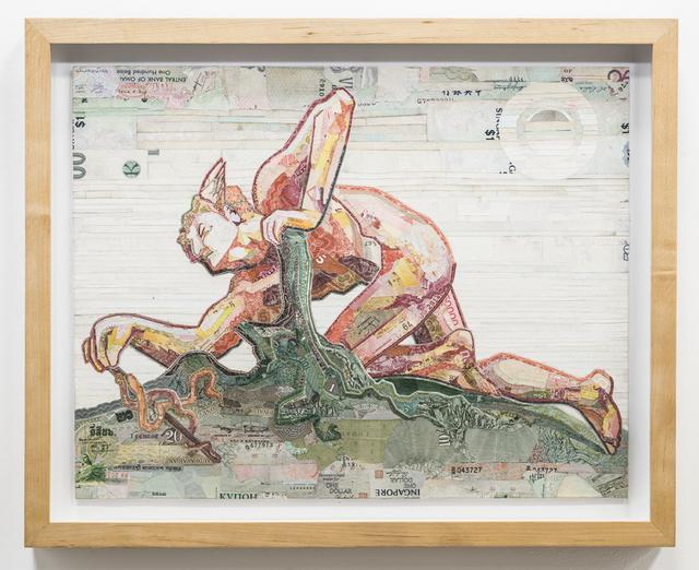 , 'Mercury Invents the Caduceus,' 2015, Rosamund Felsen Gallery