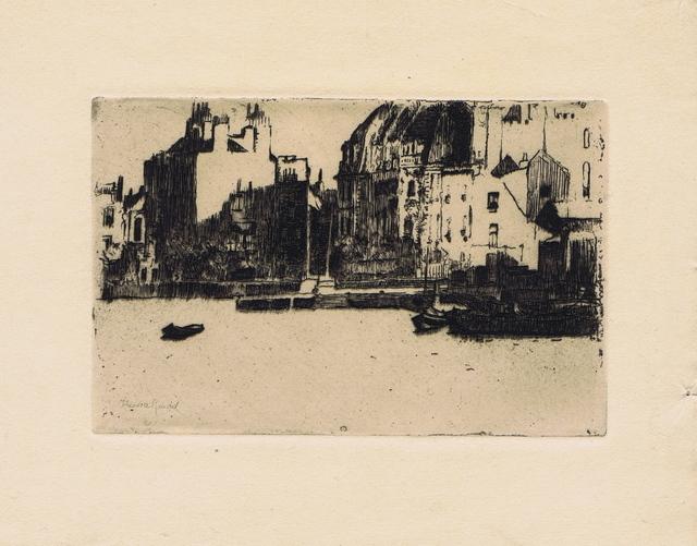 , 'Chelsea Palaces,' 1888-1889, Gerrish Fine Art
