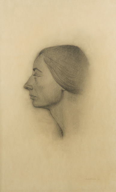 Marie-Anne Poniatowski Krugier, 'Self Portrait #7', 1962, John Moran Auctioneers