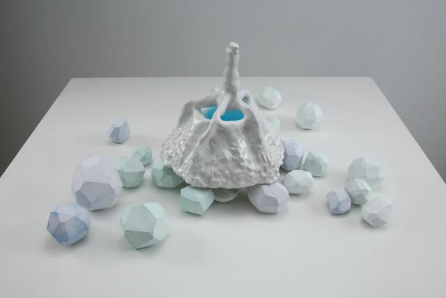 Kumie Tsuda, 'a lake and white feet', 2007, Tomio Koyama Gallery