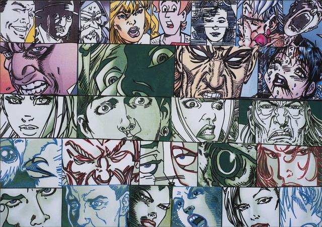 Erró, '26 visages', 2010, La Patinoire Royale / Galerie Valerie Bach