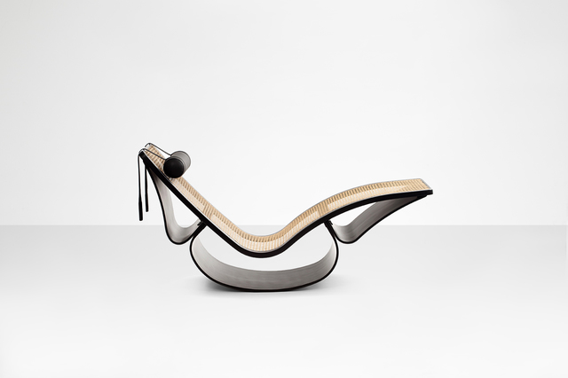 ", 'Chaise longue model ""Rio"",' 1978, Side Gallery"