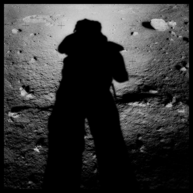 , '045 Astronaut's Shadow; Photographed by Harrison Schmitt, Apollo 17, December 7-19, 1972,' 1999, Danziger Gallery