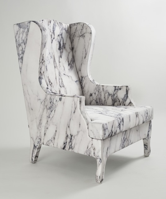 , 'Louis XV goes to Sparta Armchair,' 2011, Maison Gerard