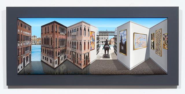 Patrick Hughes, 'Peggy In Venice', 2018, Tangent Contemporary Art
