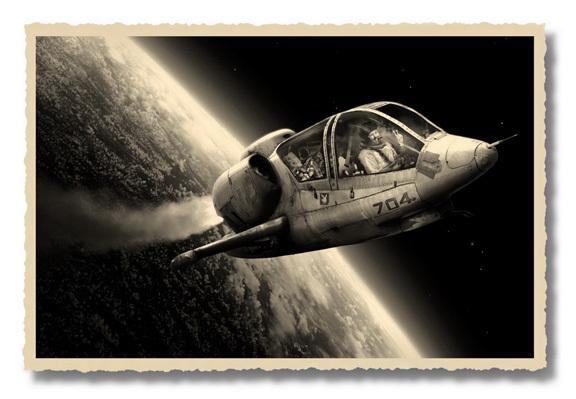, 'Stanley in Spaceship,' 1969 / 2011, PDNB Gallery