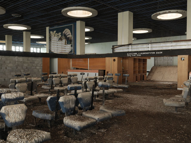 , 'Cyprus Nicosia International Airport #1: Terminal,' 2014, Galerie Fontana