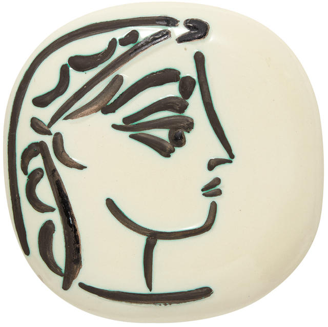 Pablo Picasso, 'Jacqueline's profile (Profil de Jacqueline)', 1956, Phillips