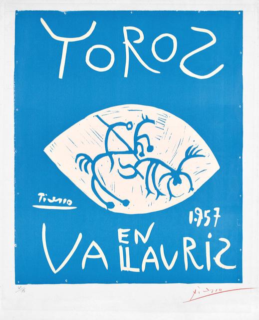 Pablo Picasso, 'Toros en Vallauris', 1957, Phillips