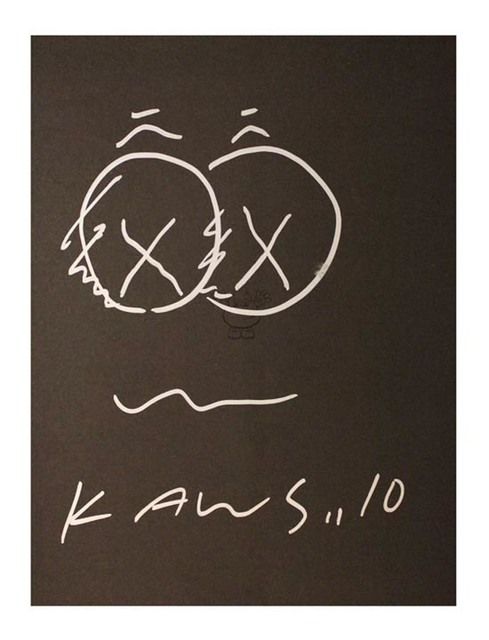 KAWS, 'B&W Drawing', 2010, EHC Fine Art Gallery Auction