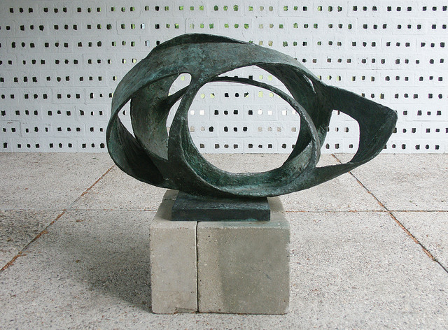 , 'Oval Form (Trezion),' 1961-1963, Tate Britain