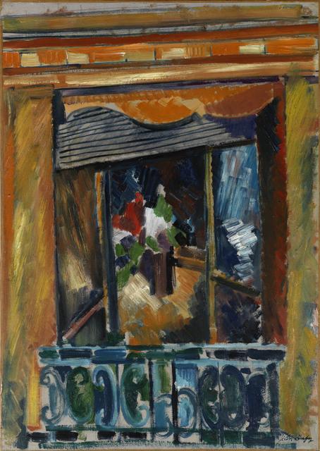 , 'La Fenêtre de l'Atelier,' 1919, Waterhouse & Dodd